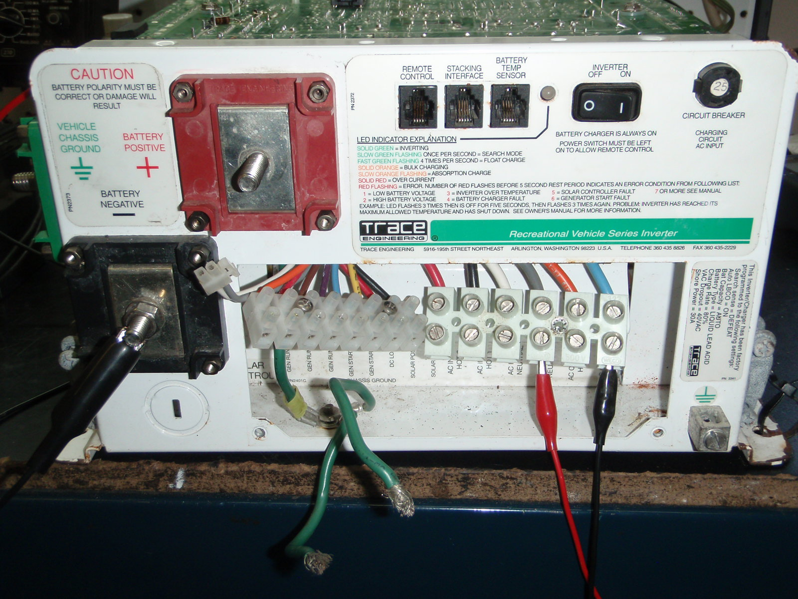 Trace Engineering RV Inverter